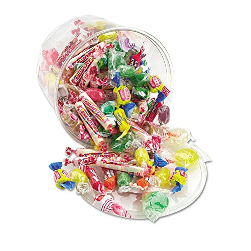 Cashmere Tub - Office Snax® All Tyme Favorite Assorted Candies & Gum, 2lb Plastic Tub