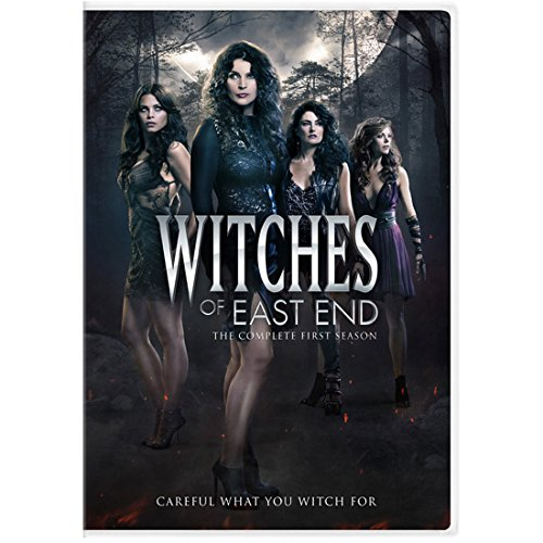 East Tv (Witches of East End (TV Series 2013 - 2014) 8 inch by 10 inch PHOTOGRAPH Female Cast Full Body Outdoors Dark Woods Title Poster kn)