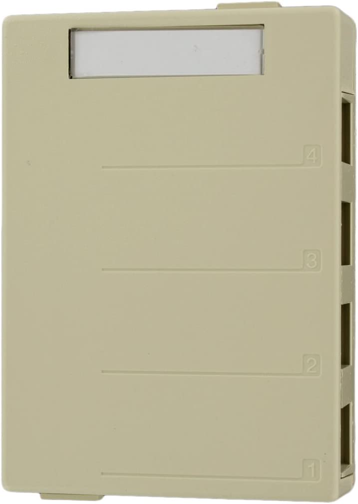Leviton 41089-4GP QuickPort Surface Mount Housing Grey 4-Port