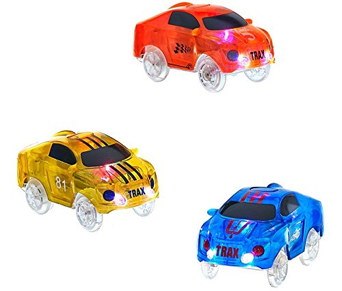 light up car set - 3