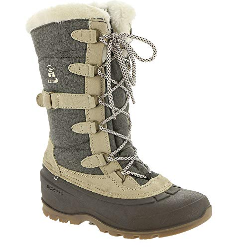 (Kamik New Women's Snovalley 2 Winter Boot Brown 7)