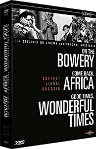 Coffret Lionel Rogosin - On the Bowery + Come Back, Africa + Good Times, Wonderful Times [Francia] [DVD]