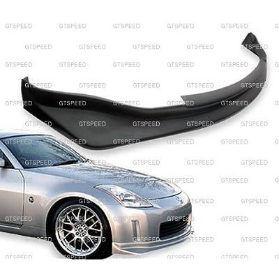 JDM PU Front Bumper Lip N1-Style Compatible with 2003-2005 Nissan 350Z: Automotive