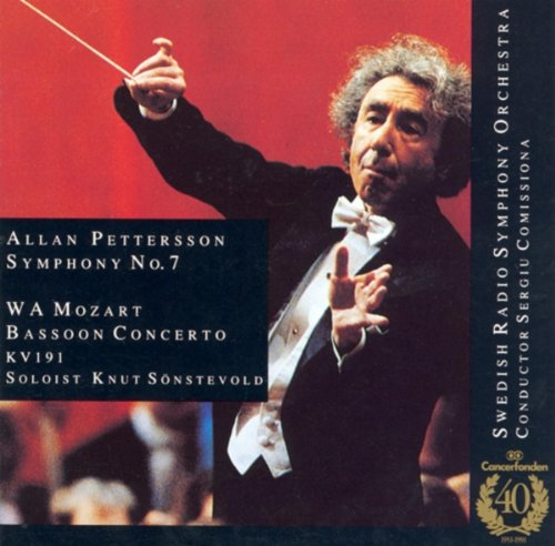 Pettersson: Symphony No. 7 / Mozart: Bassoon Concerto, K. (Swedish Bassoon)