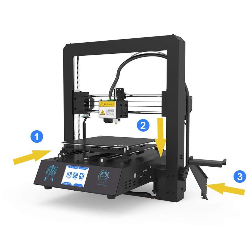 ZHQEUR Pluma de impresión 3D Impresora Mega-S 3D Actualización ...