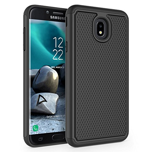 Case for Samsung Galaxy J7 2018 / J7 V 2nd Gen / J7V 2018 / J7 Refine / J7  Star / J7 Aero / J7 Top / J7 Crown / J7 Aura / J7 Eon, SYONER [Shockproof]