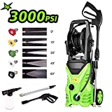 Homdox 3000 PSI Electric High Pressure Washer 1.80 GPM 1800W Electric Power Washer