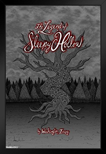 Pyramid America The Legend of Sleepy Hollow Washington Irving Art Print Framed Poster 14x20 inch -