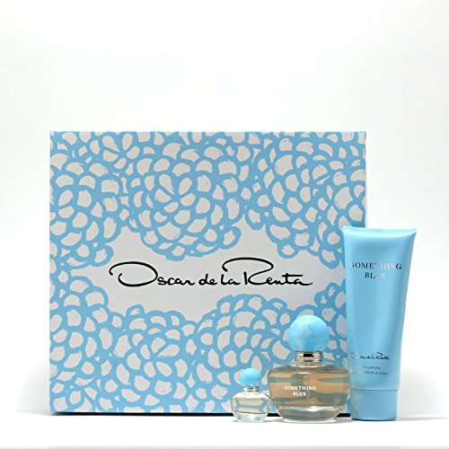 Oscar De La Renta Something Blue 1.7 Sp/3.4 Bltn/Mini .13 Set De La Renta Women Mini