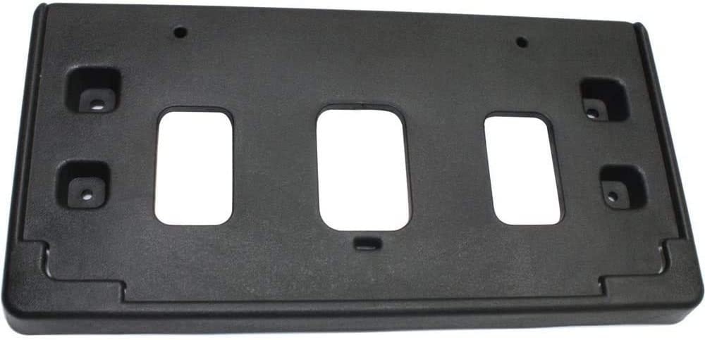 I-Match Auto Parts Front License Plate Bracket Tag Holder Replacement for 2013-2015 Chevrolet Spark GM1068148 95107111 BLACK TEXTURED