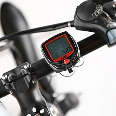 Detectoy Medidor de Bicicleta Velocímetro Bicicleta LCD Digital ...
