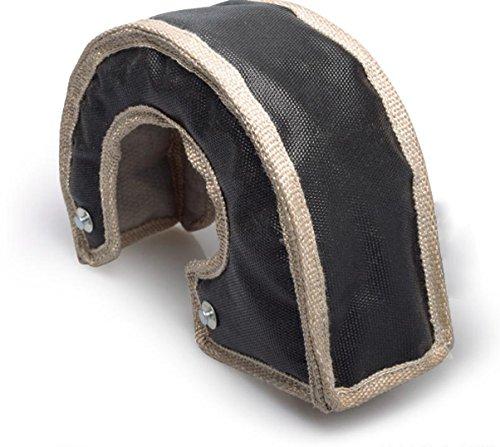 Boost Monkey Turbo Charger Heat Blanket Shield - Universal- T3 T25 T38 T3 T4 T5 T6 (T5 / T6, Black) - Blanket Chargers
