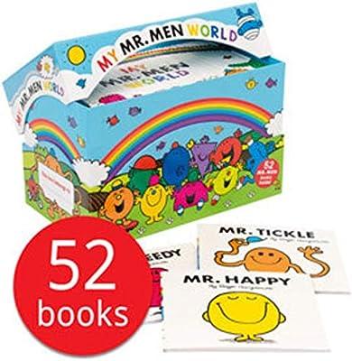 Men Book Colección My por Roger Hargreaves World Regalo 52x Titles de Mr
