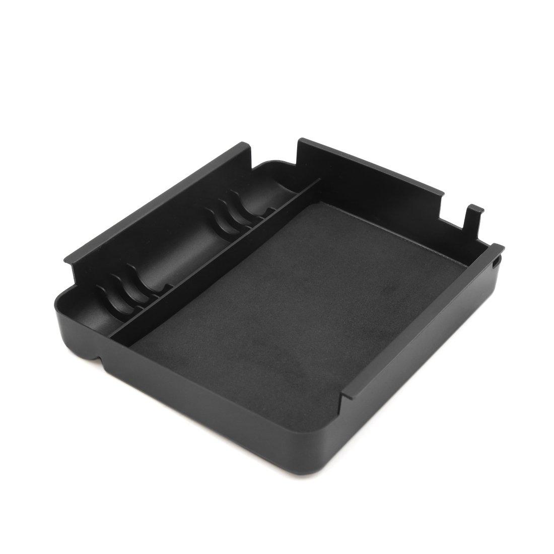 sourcing map Armrest Storage Organizer Center Console Tray Holder Divider for Car