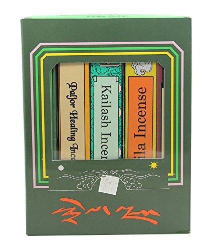 - DharmaObjects 5 Box Tibetan Green Tara Mix Incense Gift Pack