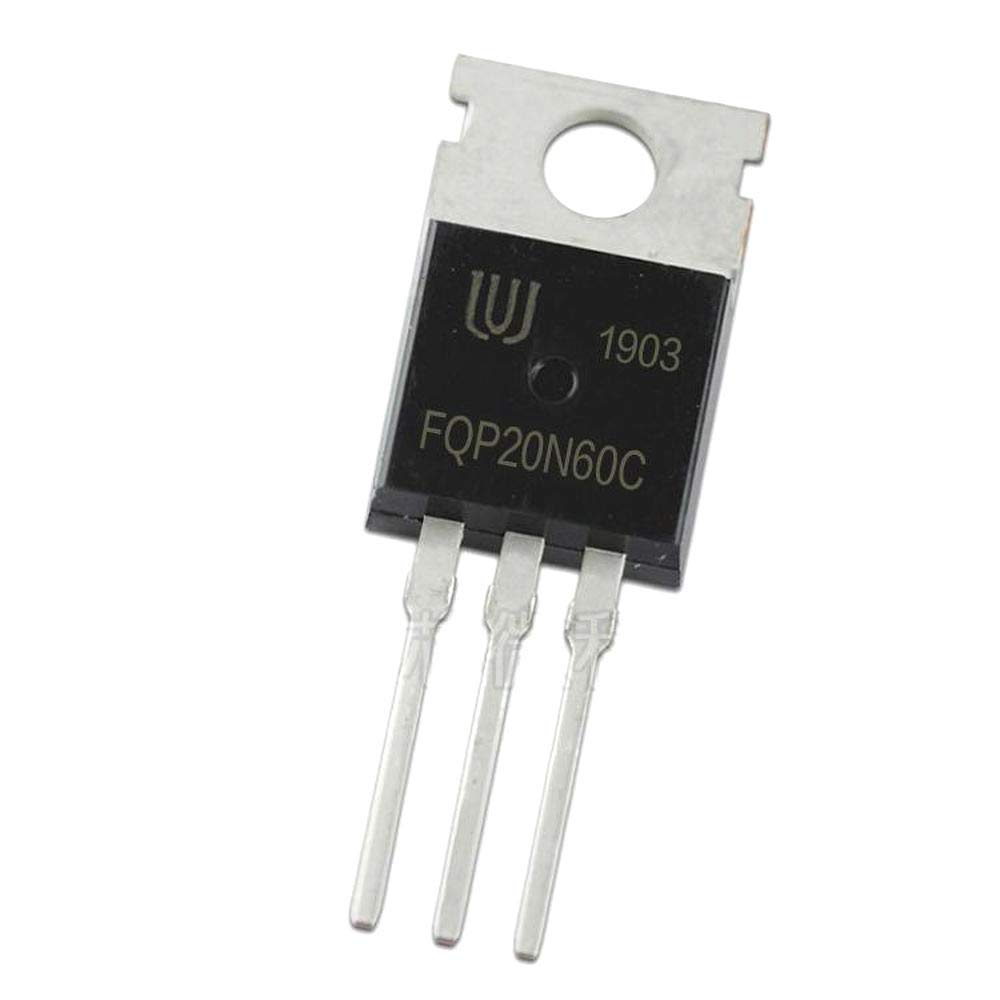 10Pcs//lot FQP20N60C TO-220 20N60 20A 600V N-Channel Mosfet