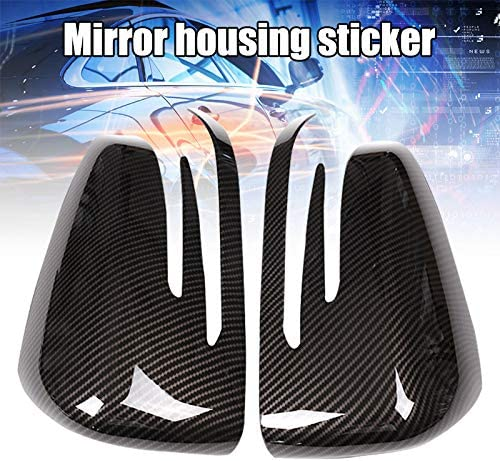 kebyy 1 Pair Rearview Mirror Cover ABS Accessories for A B C E W176 W246 W204 W212
