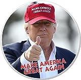 Make America Great Again – Donald Trump wearing hat 2.25″ Bottle Opener w/ Keyring Review