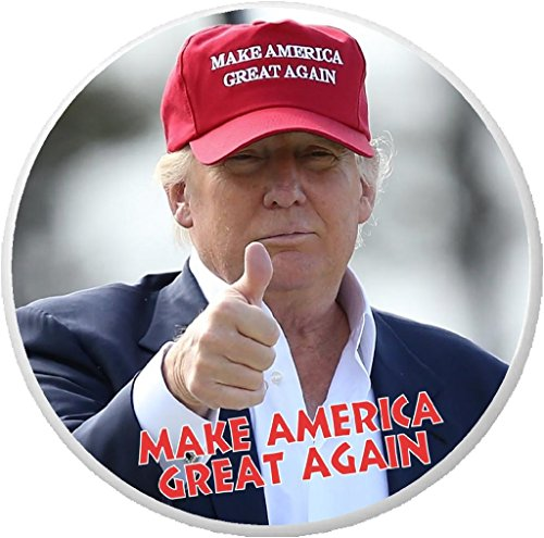 Make America Great Again - Donald Trump wearing hat 2.25