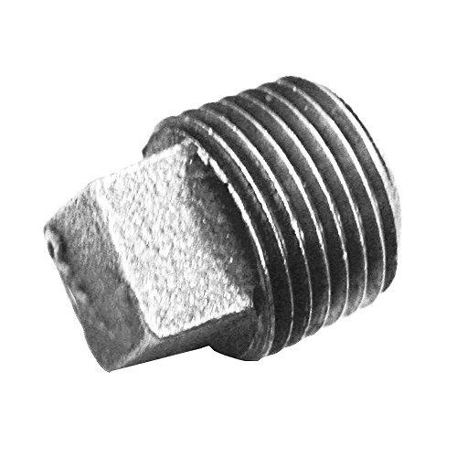 Jones Stephens Corp - 1/4 Square Head Plug Galv