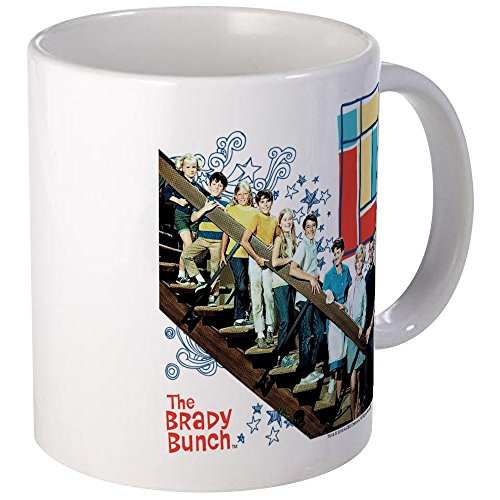 (CafePress - The Brady Bunch: Staircase Image Mug - Unique Coffee Mug, Coffee Cup)