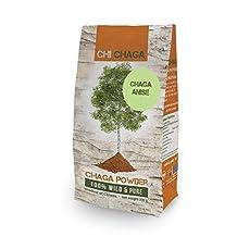 Premium Chaga Mushroom Anise Powder - 8 oz of Authentic 100% Wild Harvested Canadian Chaga Tea - Superfood