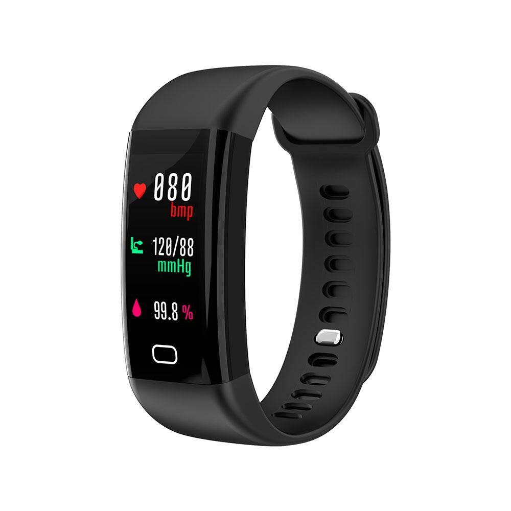 Fitness Tracker, Teepao Smart Bracelet Activity Tracker Heart Rate Blood Pressure Monitor Professional Calories Track, Sleep Monitor IP68 Waterproof Smart Watch Pedometer Wristband for Android & IOS