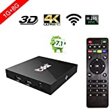 Edal X96 Amlogic S905W Quad Core 1G RAM 8G ROM Wifi 1080p H.265 64 Bit android 7.1 tv box