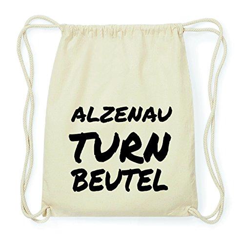 JOllify ALZENAU Hipster Turnbeutel Tasche Rucksack aus Baumwolle - Farbe: natur Design: Turnbeutel Pttf4olsf