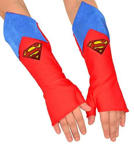 Imagine by Rubies DC Superheroes Costume Accessory, Fingerless Gloves, Supergirl