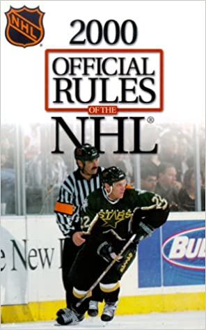 Official Rules Of The Nhl 99 00 National Hockey Lague Schedule