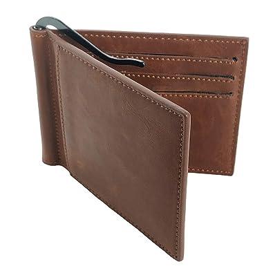 new product bd6f0 0d56f Amazon | Caro マネークリップ メンズ 二つ折り 薄型 財布 ...