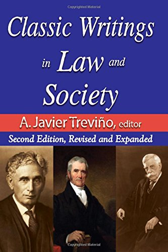Classic Writings in Law and Society: Second Edition, Revised and Expanded (Law & Society)