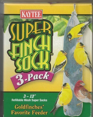 Kaytee Feeder Sock Super Finch (3 (Seed Finch Feeder)