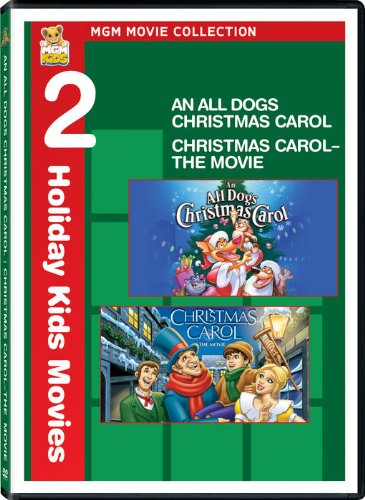 DVD : All Dogs Christmas Carol & Christmas Carol (Widescreen, Pan & Scan)