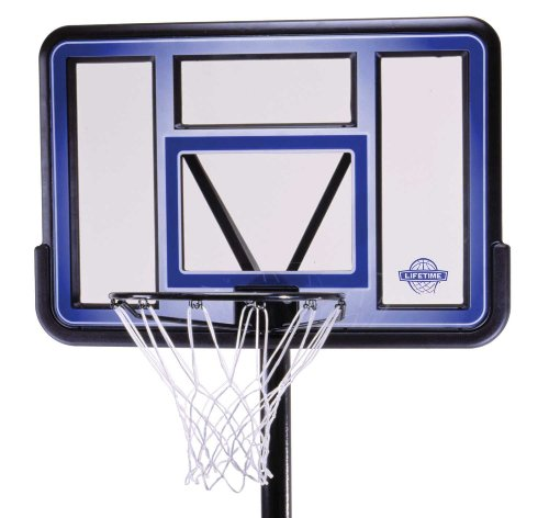 081483000725 - Lifetime 1270 Pro Court Portable Basketball System, 42 Inch Backboard carousel main 1