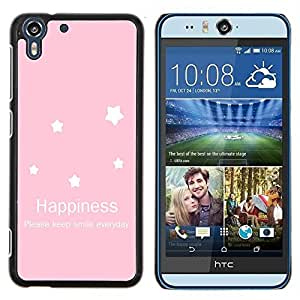Dragon Case - FOR HTC Desire EYE M910x - how much I love you - Caja protectora de pl??stico duro de la cubierta Dise?¡Ào Slim Fit