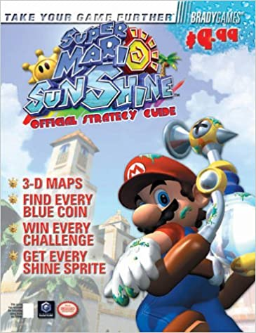 Super Mario Sunshine Tm Official Strategy Guide Brady Games Amazon