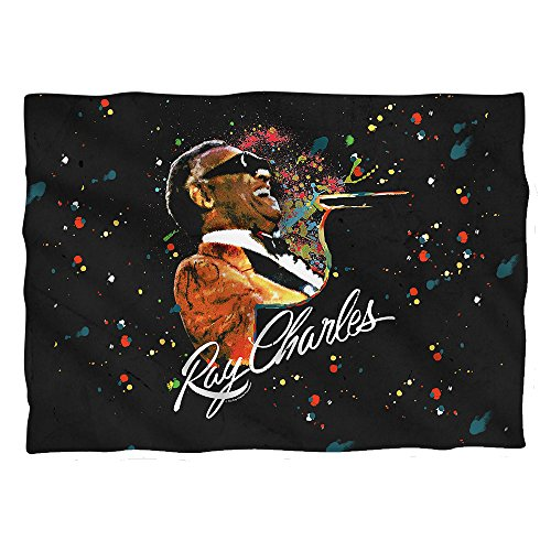 Wicked Tees RAY CHARLES SOUL Pillow Case