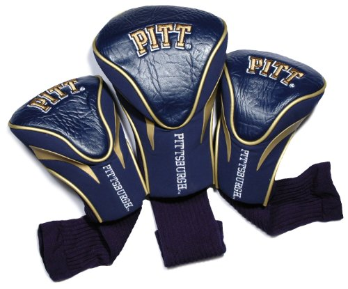Pittsburgh Panthers Golf - NCAA Pitt Panthers 3 Pack Contour Head Covers