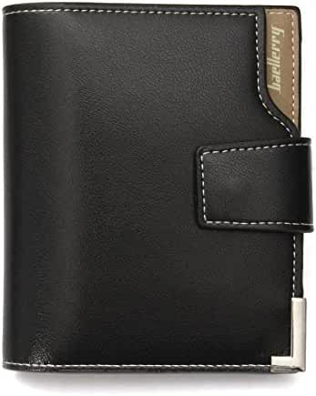 Leather Wallet for Men, Tezoo Trifold Blocking Wallet Credit Card Holder Money Case