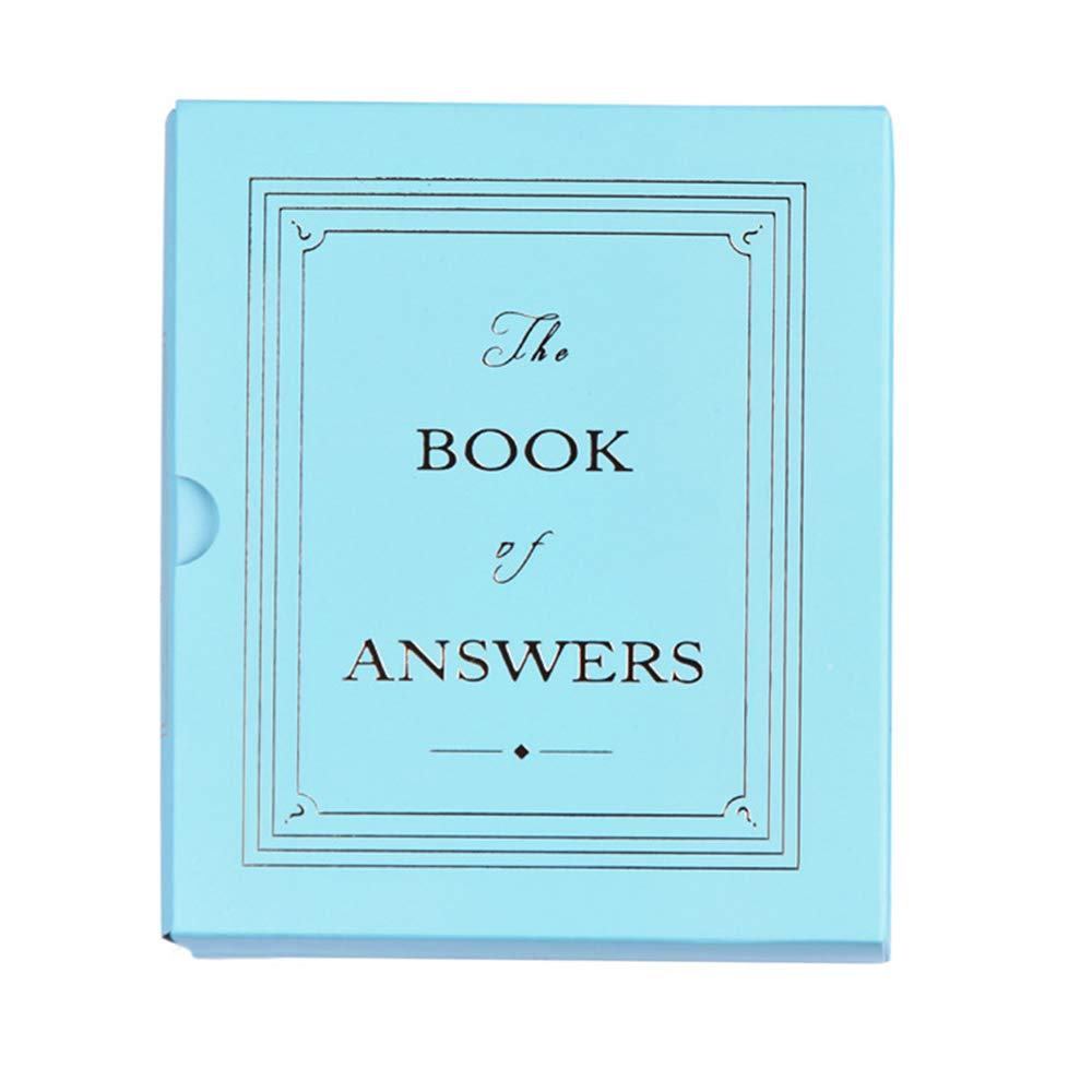 YUIOP Magic Book Fortune Telling Notebook of Answer Hardcover Diary Gift for Kids and Hesitant Person