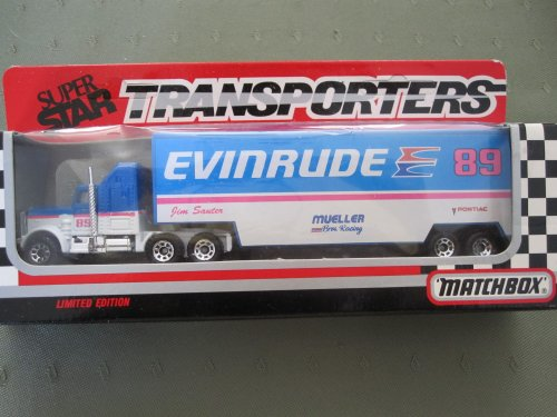 Kenworth Transporter-Jim Sauter-Evinrude-Matchbox Limited (Transporter Matchbox)