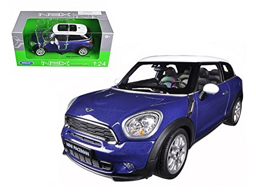 2 Doors Mini Cooper S Spaceman 1/24 Scale By Welly ()