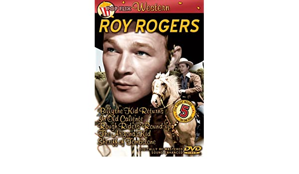Amazon com: Roy Rogers: Billy the Kid Returns/In Old