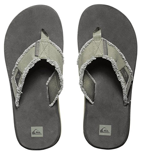 Pictures of Quiksilver Men's Monkey Abyss Three-Point Sandal 12 M US 2