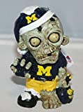 Michigan Wolverines NCAA Zombie Christmas Ornament