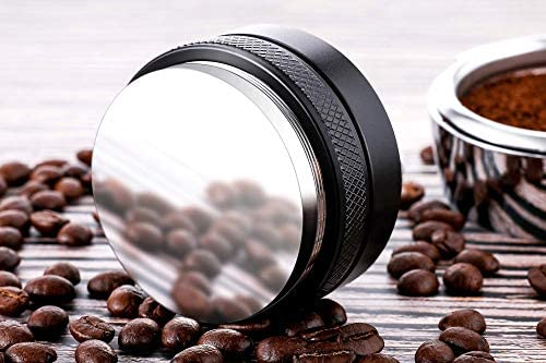 53mm Coffee Distributor/leveler & Tamper,Fits for 54mm Breville Portafilter,Adjustable Depth