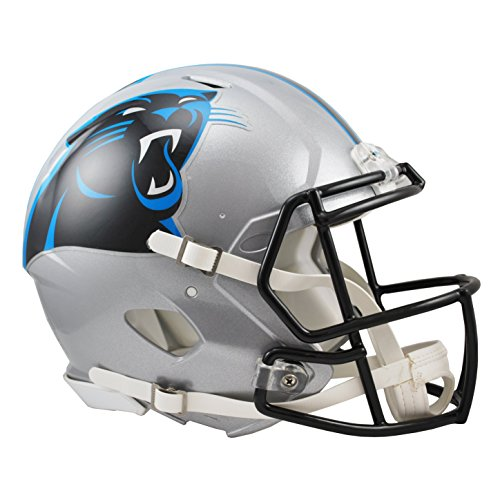 NFL Carolina Panthers Speed Authentic Football Helmet (Carolina Helmet)