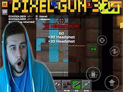 Clip: The Best Wall Ever! (Pixel Gun Best Premium Weapon)